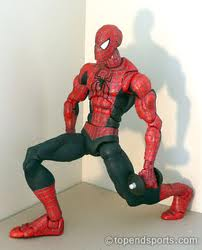 Spidey needs to fire his glute and straighten his back leg.